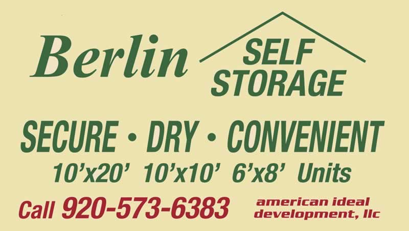 berlin self storage berlin wi home. Black Bedroom Furniture Sets. Home Design Ideas
